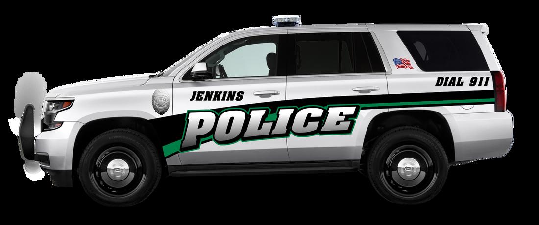 Chevrolet Tahoe Kits Vinyl Graphics Police Division